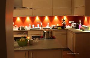 decoration cuisine rouge et beige exemples d39amenagements With cuisine beige et rouge