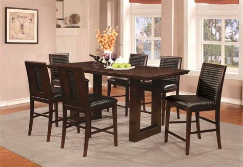 table co chocolate dining table co chet transitional dining