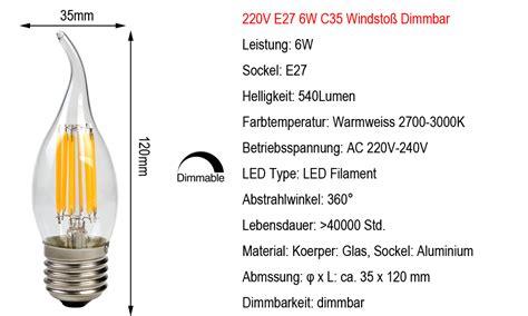 Esszimmer Le Tropfenform by E14 E27 2w 4w 6w 8w Edison Vintage Cob Led Le Filament