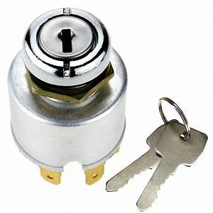 Universal Ignition Switch Lock Cylinder Replacement W  2