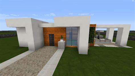 Minecraft Modernes Haus Montag