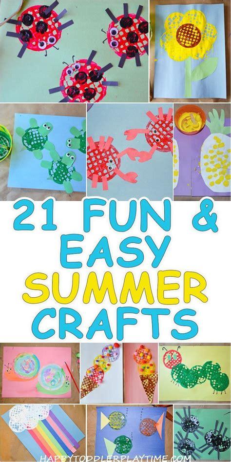 fun easy crafts  summer fun easy crafts easy