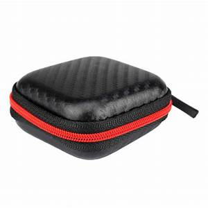 Newest Storage Box Kz Portable Storage Square Bag Box Cover For Earphone Cable Charger Levert