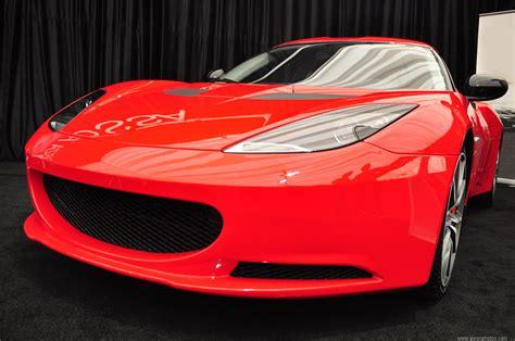 Fast Red Luxury Car