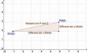 Durchschnitt Berechnen Punkte : abstand zweier punkte berechnen mathe artikel ~ Themetempest.com Abrechnung