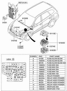 Hyundai Tiburon Engine Compartment Diagram