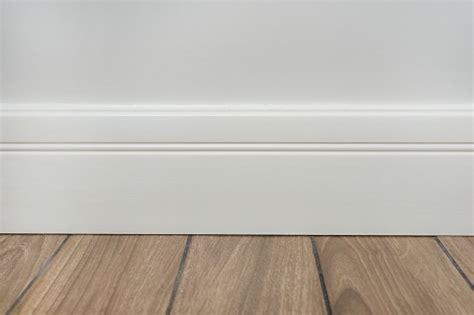 light matte wall white baseboard  tiles immitating