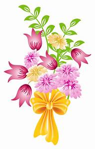 Picture Of Flowers Bouquet - Cliparts.co