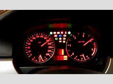 BMW E90E91 dashboard test YouTube