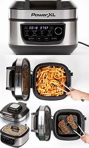 powerxl 12 in 1 indoor grill air fryer cooking gizmos