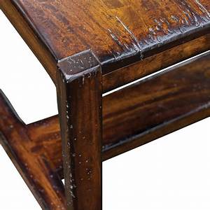 Danny rustic lodge honey mahogany coffee table kathy kuo for Rustic mahogany coffee table