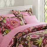 Brown and pink bedding for teens
