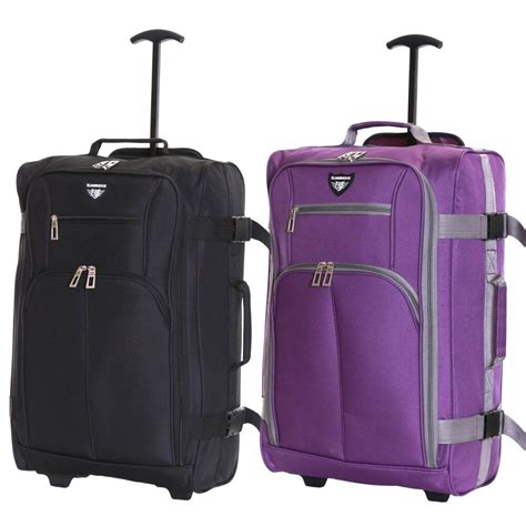 cabin trolley bags ryanair easyjet 55 cm cabin approved trolley suitcase