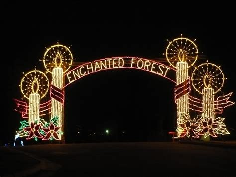 best places to see christmas lights in central arkansas