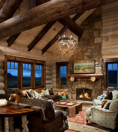 Cabin Interior Pictures by 21 Rustic Log Cabin Interior Design Ideas Style Motivation