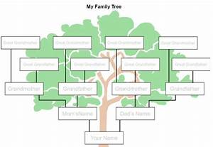 7 easy ways to make a family tree With how to draw a family tree template
