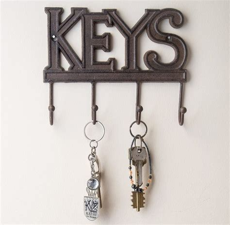 Kitchen Wall Shelving Ideas - unique wall key holders and hook racks