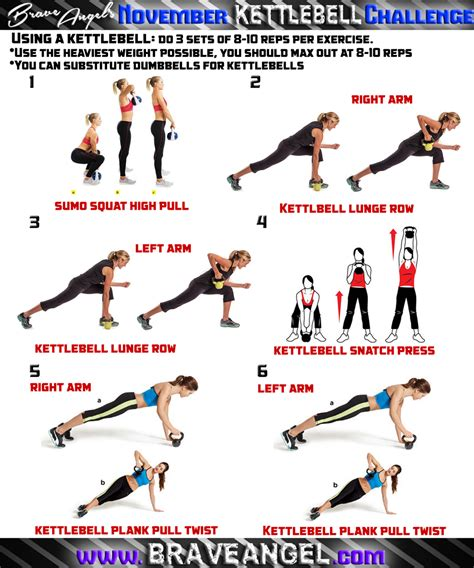kettlebell workout body workouts snatch challenge training exercise circuit whole fire program pull lunge plank row swings weight cardio