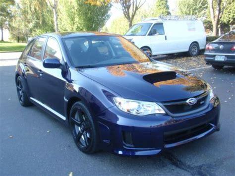 purple subaru wagon purchase used 2013 subaru wrx wagon like new nice