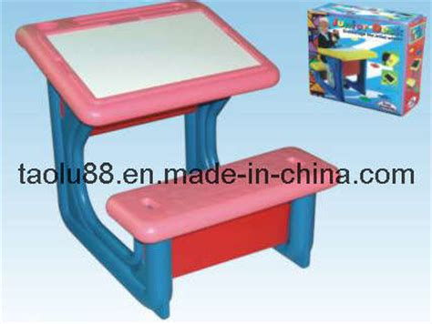 China Children Plastic Desk And Chair (tlkf05) China