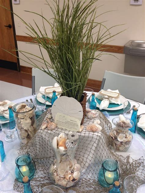 25 best ideas about beach theme centerpieces on pinterest