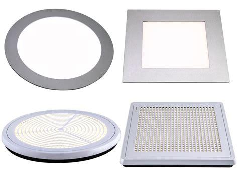 led leuchte flach smd led panel dimmbar deckenle leuchte deckenleuchte flach au 223 en slim einbau ebay