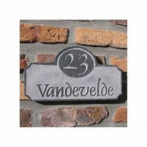 Plaque Numero De Rue : plaque num ro de rue en pierre naturelle stafford avec ~ Melissatoandfro.com Idées de Décoration