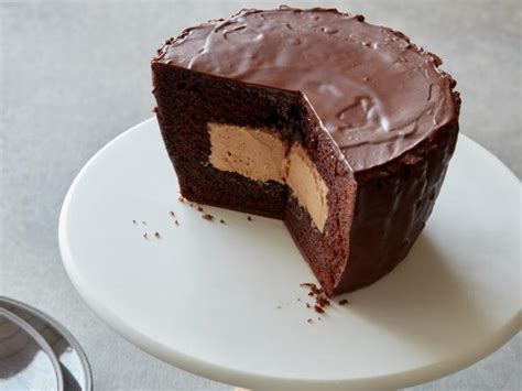 giant peanut butter cup cake recipe food network kitchen