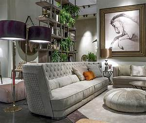 Contemporary tv wall unit and modern living room furniture for Trends in living room furniture 2016