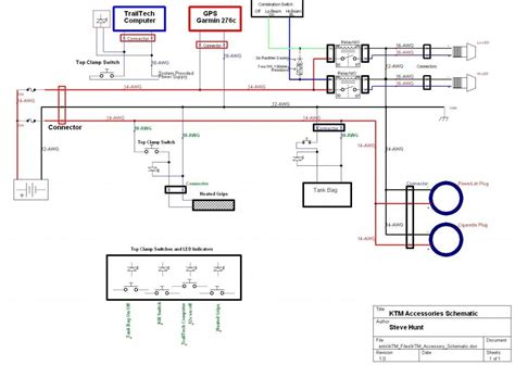 Ktm 400 Wiring Diagram by 500exc Electrical Help Adventure Rider