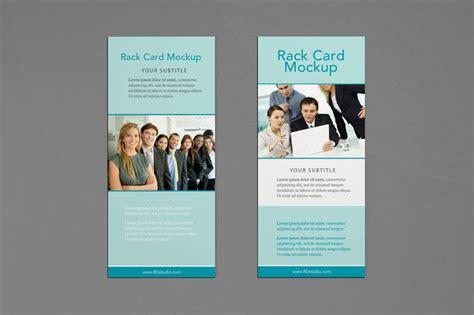 rack card mockup  images rack card mockup