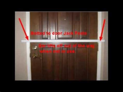how to secure a door from being kicked in the best door security how to prevent kick in and door