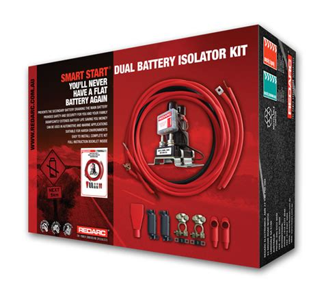 L Wiring Kit Australia by Redarc Dual Battery Isolator System Kit
