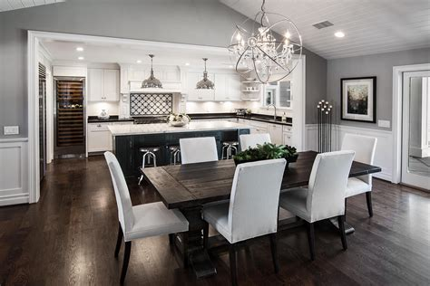 Decorating Ideas For Open Concept Living Room Dining Room And Kitchen by Open Concept Kitchen Living Room Floor Plans