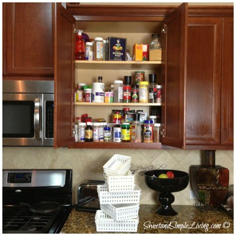 kitchen organization kitchen organization cheap and easy spice cupboard 1520