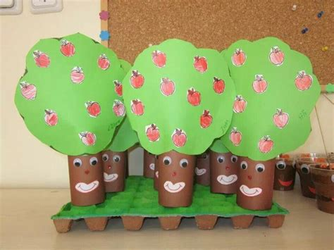 community helpers craft crafts and worksheets for 677   toilet paper roll tree craft