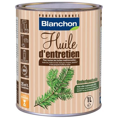 huile pour parquet huile d entretien pour parquet blanchon naturel 1l