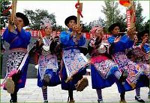 Travel Photos of Miao Minority Cute Little Girls in Native ...