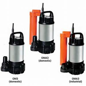 195 L  Min Compact Submersible Drainage Pump  Om3