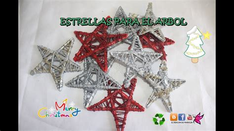 estrellas de papel para el arbol de navidad youtube