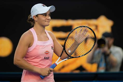 In french open, paris, france. ASHLEIGH BARTY at 2019 Australian Open at Melbourne Park ...
