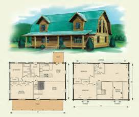 log home floor plans with loft jefferson ii
