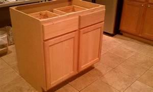 Building, A, Kitchen, Island, Using, Cabinets