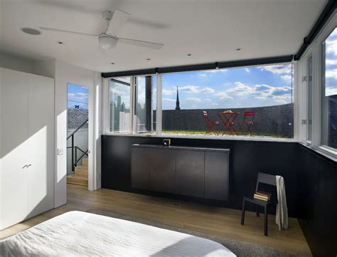 split level bedroom bedroom split level house in philadelphia by qb design