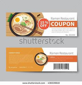 meal voucher stock images royalty free images vectors With free meal coupon template
