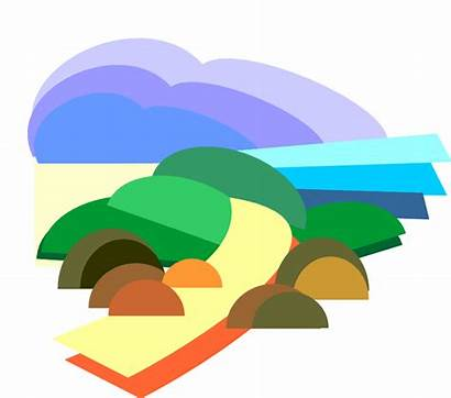 Nature Clipart Clip Path Cartoon Cliparts Pathway
