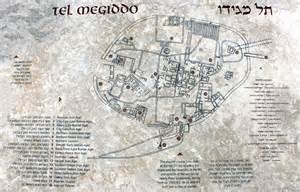 map of megiddo map of the tel preachersmith