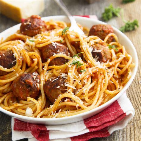 recette spaghetti aux boulettes de veau facile rapide