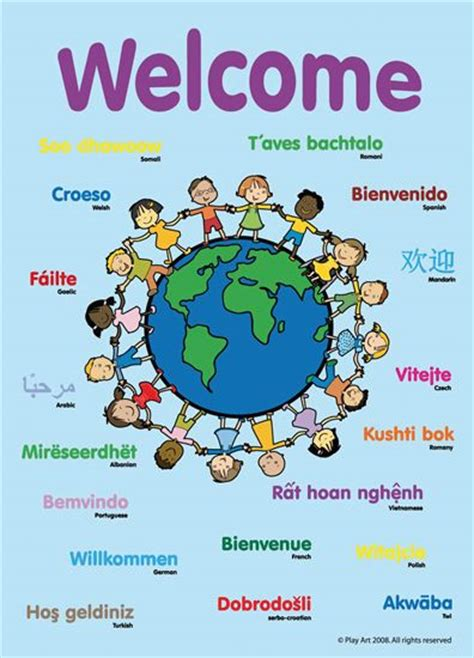 Spring Kindergarten Door Decorations by Best 25 Welcome Poster Ideas On Pinterest Multicultural