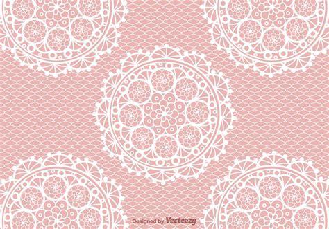 crochet lace vector background   vector art